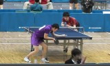 【卓球】 有延大夢VS松原公家 東京選手権2013