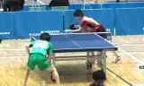 【卓球】 龍崎東寅VS田中博己 東京選手権2013