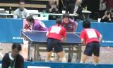 【卓球】 池田/平野VS福岡/土井 東京選手権2013