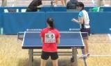 【卓球】 天野優VS根本理世 東京選手権2013