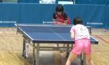 【卓球】 石川梨良VS石田葵 東京選手権2013