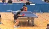【卓球】 森薗美月VS横松香帆 東京選手権2013