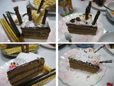 ケーキの数々