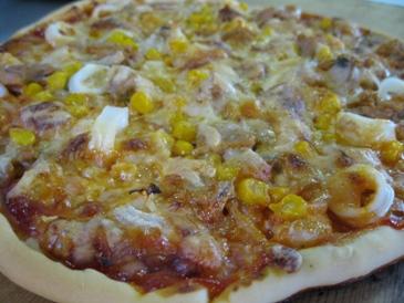 2010シーフードピザ