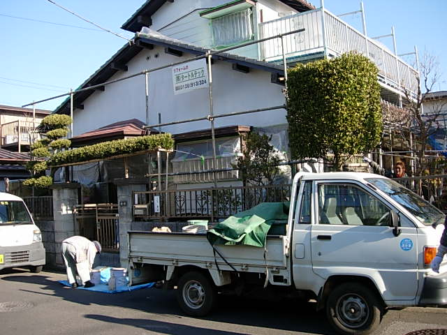 新井邸タイル