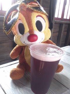カシスビールおかわり2