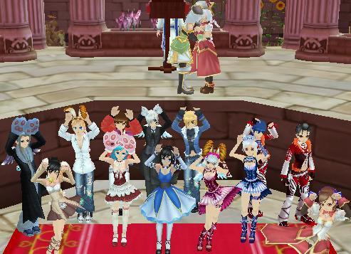 結婚式式1