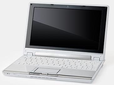 オンキヨーから14.4時間駆動の薄型ネットブックMX1007A4
