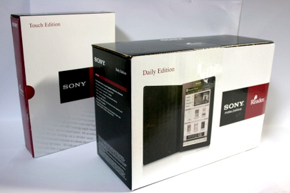 Sony Reader Daily Edition (PRS-900) が届く