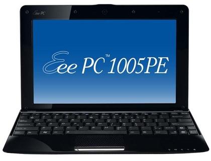 11.7時間駆動Eee PC 1005PE発売
