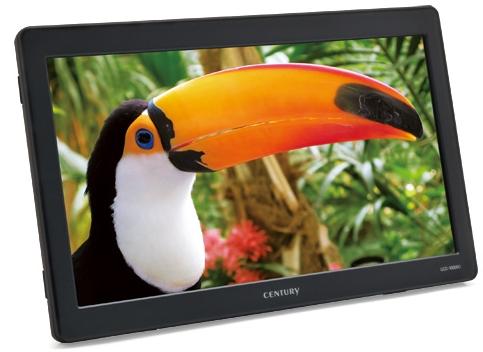 センチュリーから10.1型USB液晶 LCD-10000Uが発売、価格は19,800円