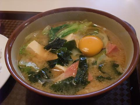 お食事処 三笠 味噌汁