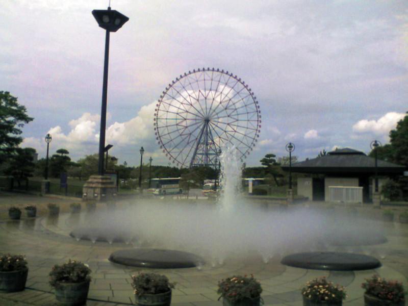 葛西臨海公園:噴水
