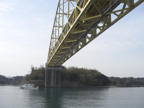 天草2号橋下