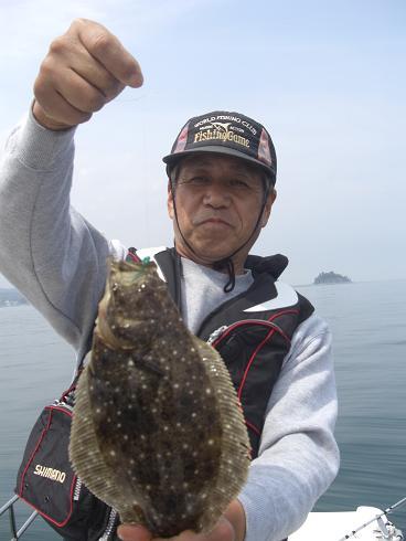 0411上野先輩ヒラメ