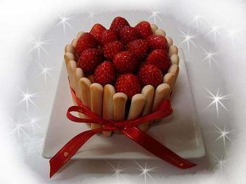 ちびしま用ケーキ