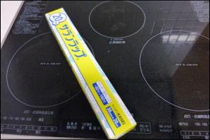 サランラップで掃除