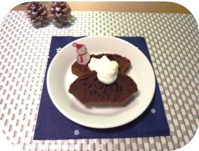 20091210 チョコケーキ