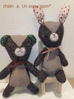 ウサコ&クマ