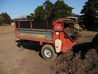堆肥撒き機