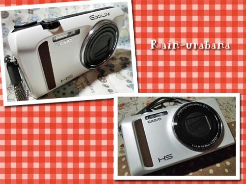 カメラ...新しくなりました (^ ^V