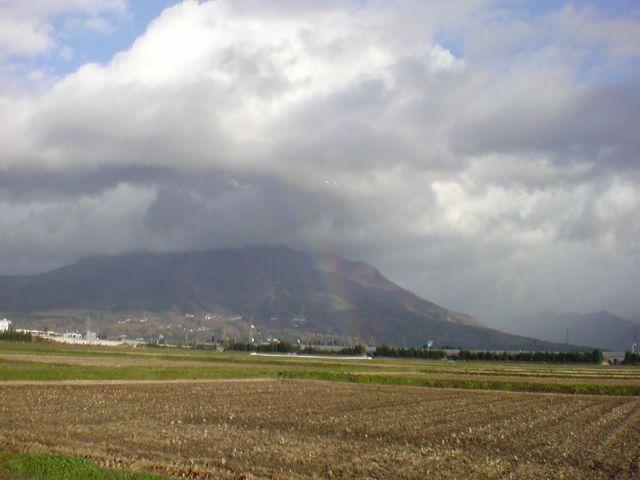 虹がきれいですた