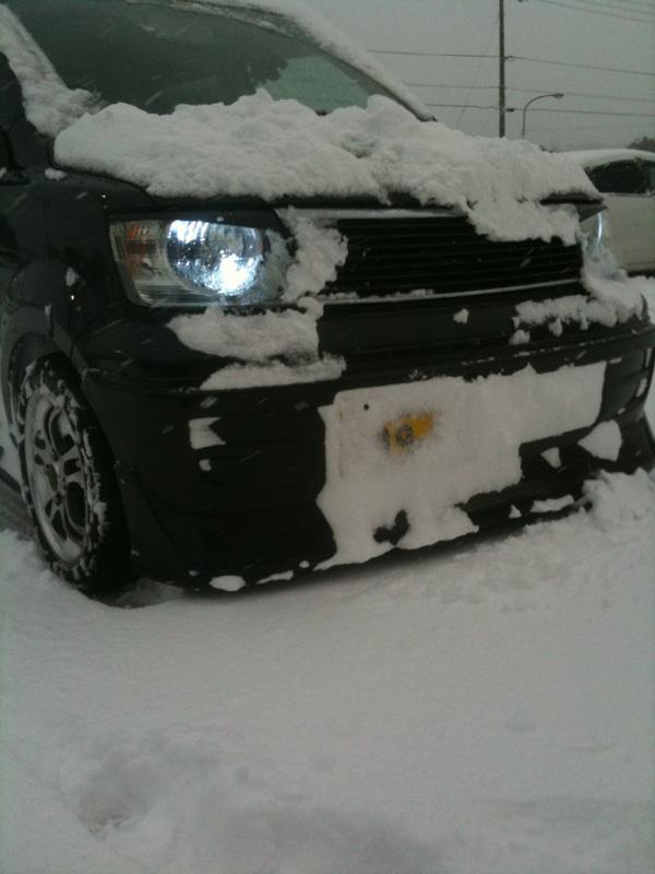 ☆愛南サンクス雪の量☆
