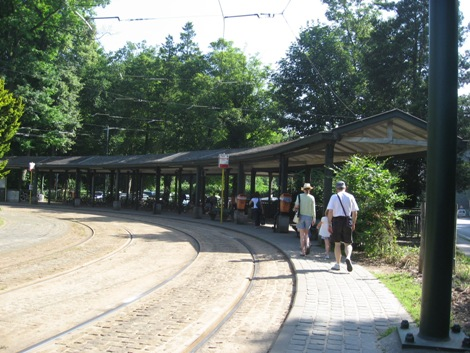 テルヴューレン駅