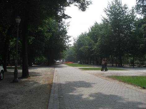 ブリュッセル公園ー1