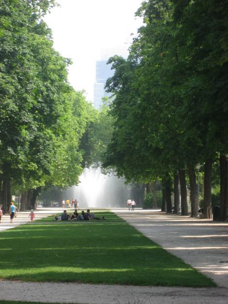 ブリュッセル公園ー2