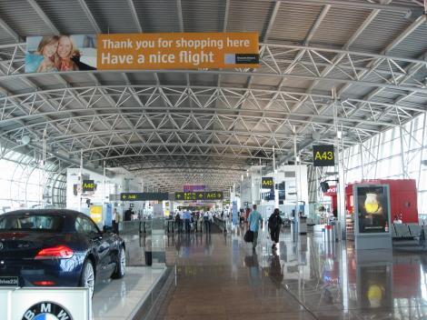 やっと着いたよ空港