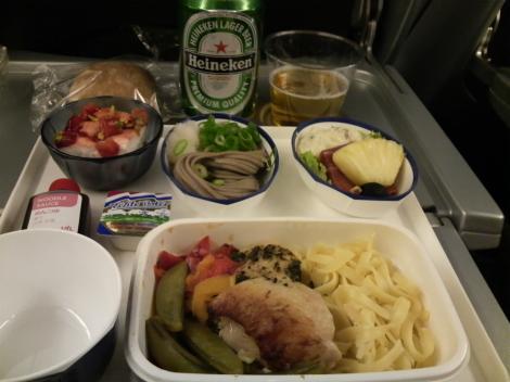 JAL機内食1