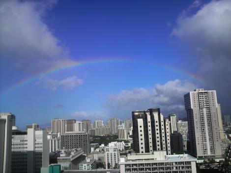 今日も虹ー3