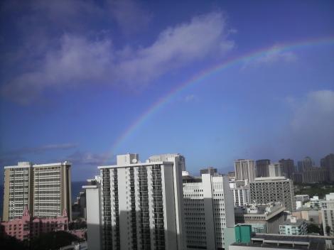 今日も虹ー2