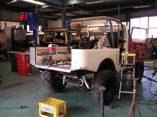 白jeep