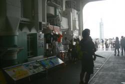 100911 南極観測船しらせ展示物2