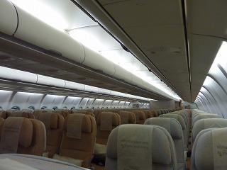 エティハド航空機内