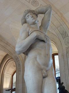 ルーヴル美術館09-瀕死の奴隷