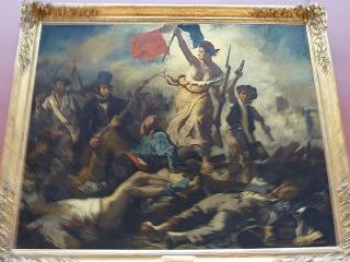 ルーヴル美術館10-民衆を自由に導く自由の女神
