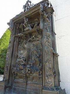 ロダン美術館05-地獄の門