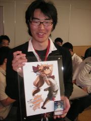 1周年記念大会優勝者 T田先生