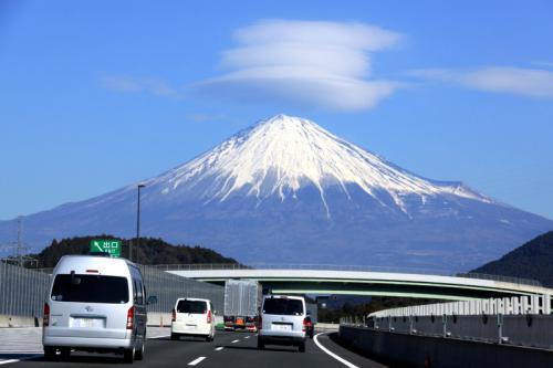 第二東名から富士山