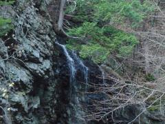 九蔵の滝 秋