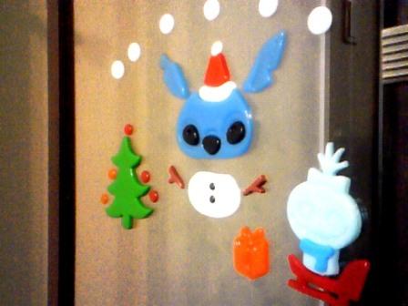 スティッチとクリスマス♪