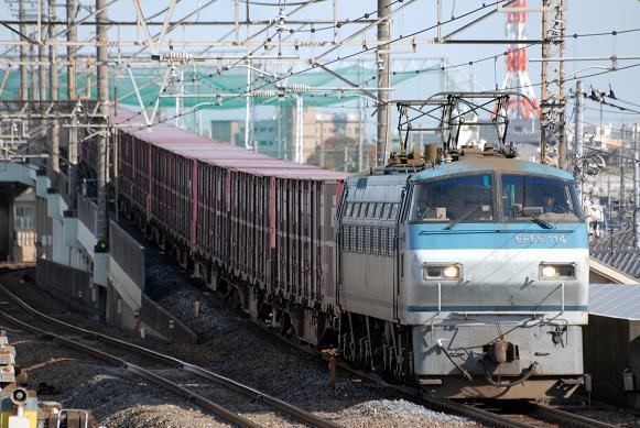 3078レ EF66-114