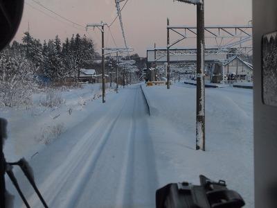 更に雪深くなってきました