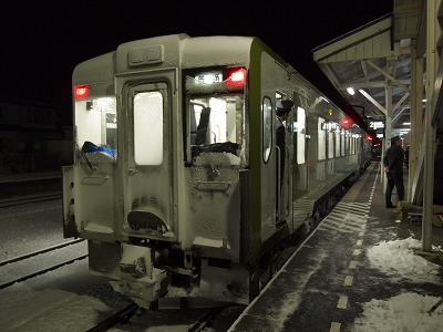 宮古行き普通列車