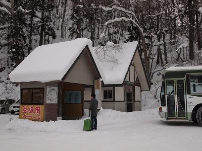 バス待合室