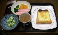 朝ご飯20100226