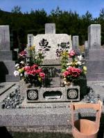 墓参り20100227